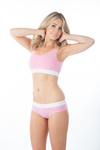 Tuffetts Empire Crop Top In Pink
