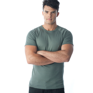 Tuffys Crew Neck Muscle Top In Ash
