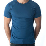 Tuffys Crew Neck Muscle Top In Navy