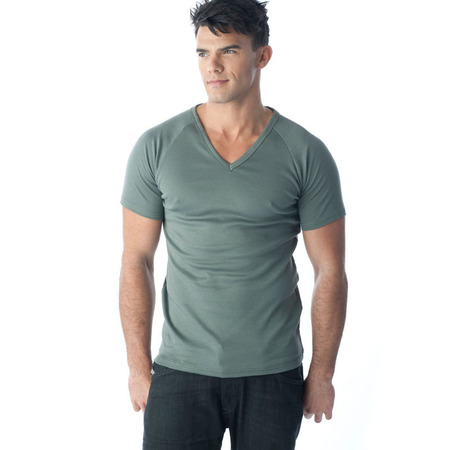 Tuffys V-Neck Muscle Top In Ash