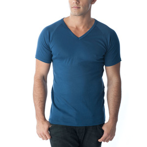 Tuffys V-Neck Muscle Top In Navy