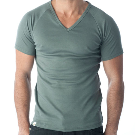 Tuffys V-Neck Muscle Tops In Ash x 3 Pack!