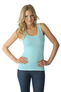 Tuffetts Tank Top In Sky Blue