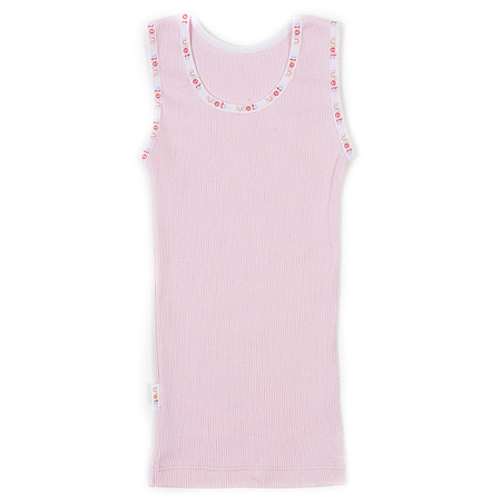 Tuffetts FOR KIDS™ Ribbed Singlet In Light Pink