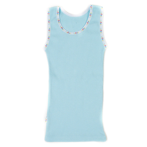 Tuffys FOR KIDS™ Ribbed Singlet Light Blue