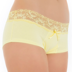 Tuffetts Lace' On Shorties In Lemon
