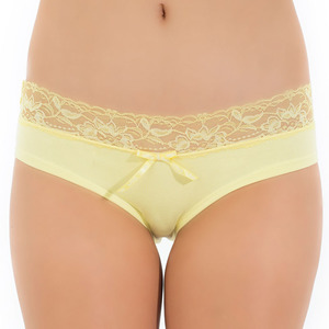 Tuffetts Lace On Brief In Lemon