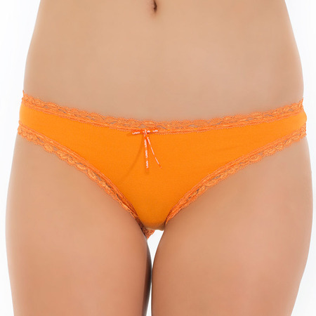 Tuffetts Lace On Cheeky Buns In Orange