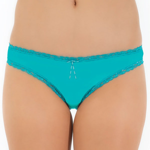 Tuffetts Lace On Cheeky Buns In Aqua