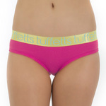 Tuffetts Shimmer Full Cheek Brief In Hot Pink