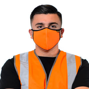 Hi-Vis Face Mask In Orange
