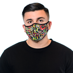 Tuffys Face Mask In Retro