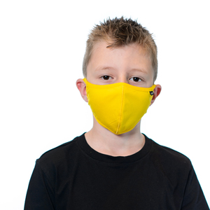 Tuffys Kids Face Masks In Yellow
