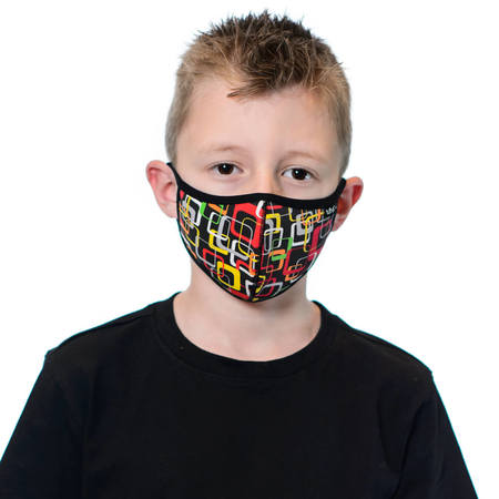 Tuffys Kids Face Mask In Retro