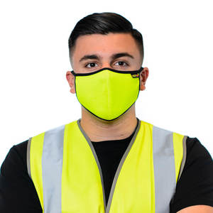 Hi-Vis Face Mask In Yellow
